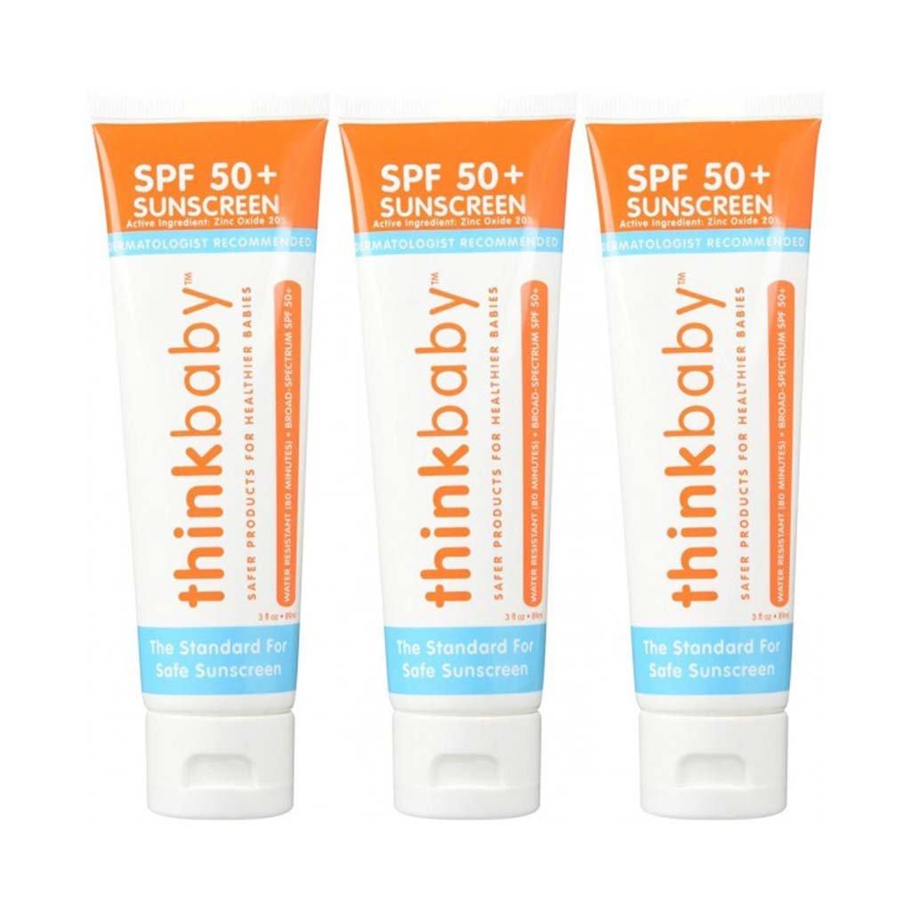 3 adet - Thinkbaby SPF50+ Bebek Güneş Koruyucu Kremi 89 ml