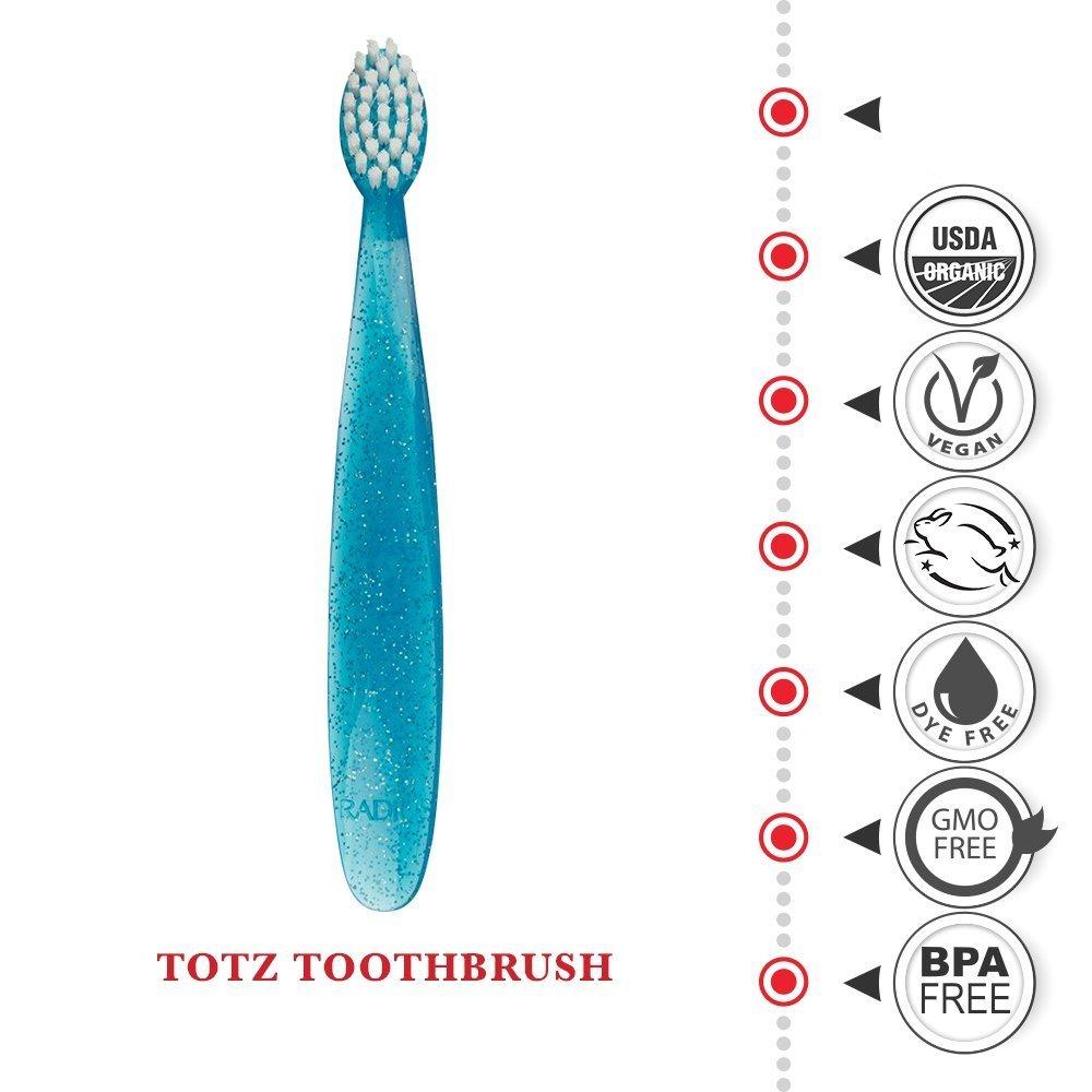 Totz Diş Fırçası, Ekstra Yumuşak, Radius (18 ay- 3 yaş)