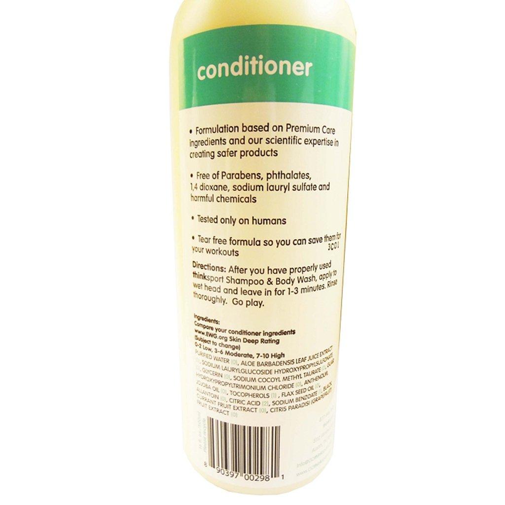 Doğal Saç Kremi, 473 ml, THINKSPORT